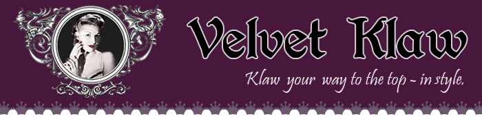 Velvet Klaw, beautiful handmade fashions